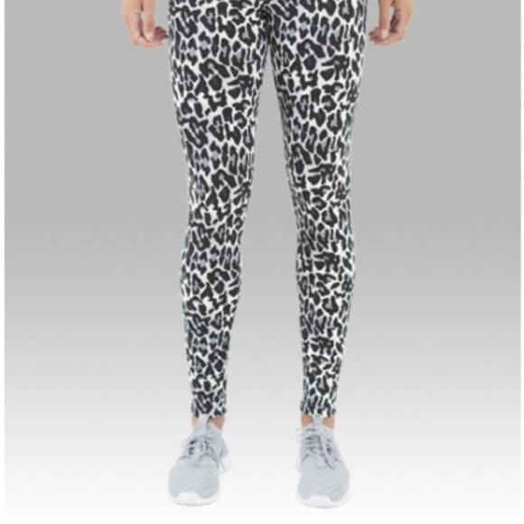 ebc2cba7a3cc0 Boxercraft Pants   Leopard Print Black And White Leggings   Poshmark